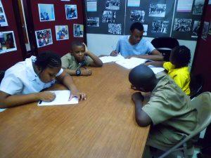 Students doing homework_Afterschool programme
